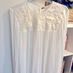White Free People blouse